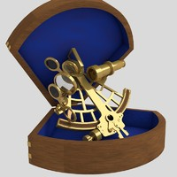 sextant box 3d model
