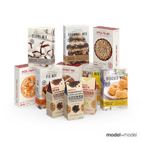 Baking mix boxes