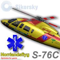 sikorsky s-76c norrlandsflyg max