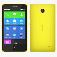 3ds max nokia x - yellow