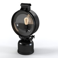 British Railway Flood Lamp By Restaration Hardware