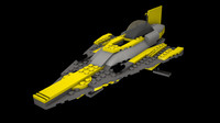 Lego Star Wars Anakin's Starfighter
