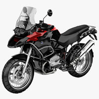 BMW Motorcycle R1200 GS 2012