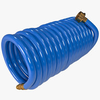 hose coil 3d max