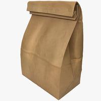 paper bag 3d 3ds