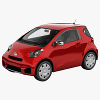 3d scion iq 2014 model