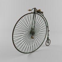 maya penny farthing bicycle