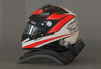 raikkonen 2013 f1 helmet 3d model