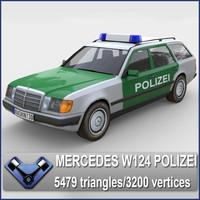Mercedes W124 Polizei