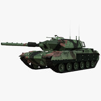 tank sabra mk iii 3d 3ds
