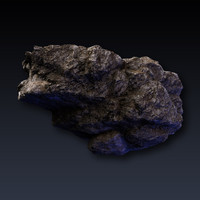 3ds max rock realistic
