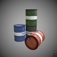 3d barrel model
