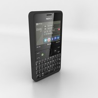 3ds max nokia asha 210 black
