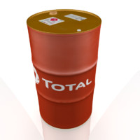 3d oil drum model