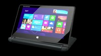 laptop lenovo ideapad flex10 3d model