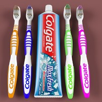 3d model of toothbrush brush