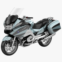 bmw motorcycle r1200 rt 3d model