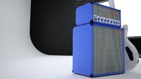 3d royal amp model