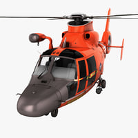 search rescue helicopter eurocopter 3d model