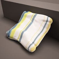 3d simple cushion