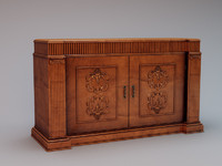 classic sideboard 3d model