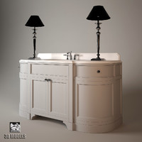3d model washstand devon stand