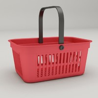 3ds max shopping basket