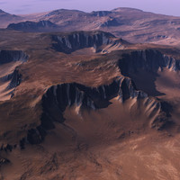 Realistic Terrain for Vue