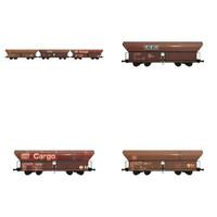 3d train cars