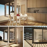 3dsmax archipelago house