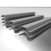 c4d steel piles metal