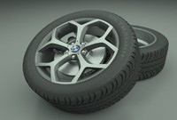 bmw disk style 21 3d model