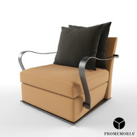 3d model promemoria augusto armchair