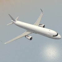 3d model sharkleted airbus a321neo a321
