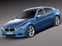 BMW 4 Series Gran Coupe M sport package 2015
