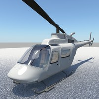 3d helicopter bell