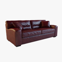 realistic panther brown leather 3d max