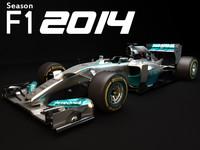 Mercedes benz W05 2014