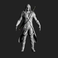 3d zbrush assasin creed