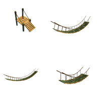maya bamboo bridges