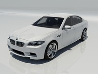 bmw m5 f10 car 3ds