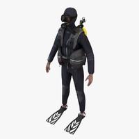 scuba diver 3d 3ds