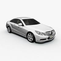 3d e class coupe 2