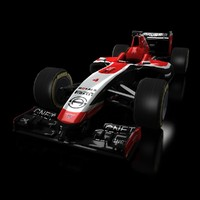 marussia mr03 3d max