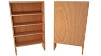 3d wood wooden shelf