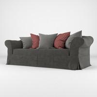 sofa realistic 3d max