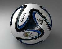 3ds football ball