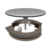 counter design 3d model