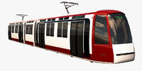 tram city 3d model