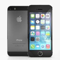 free apple iphone 5s 3d model